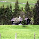 aeltestes Haus im Kleinwalsertal