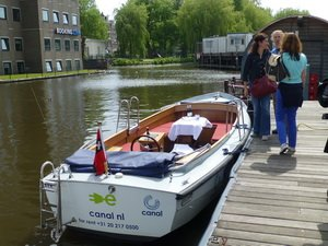 Bootstour in den Grachten Amsterdams