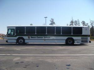 Der Bryce Canyon Shuttle Bus.
