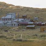 Blick zur einstigen Goldmine, Standard Mine & Mill
