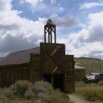 Das alte Feuerwehrgebäude von Bodie